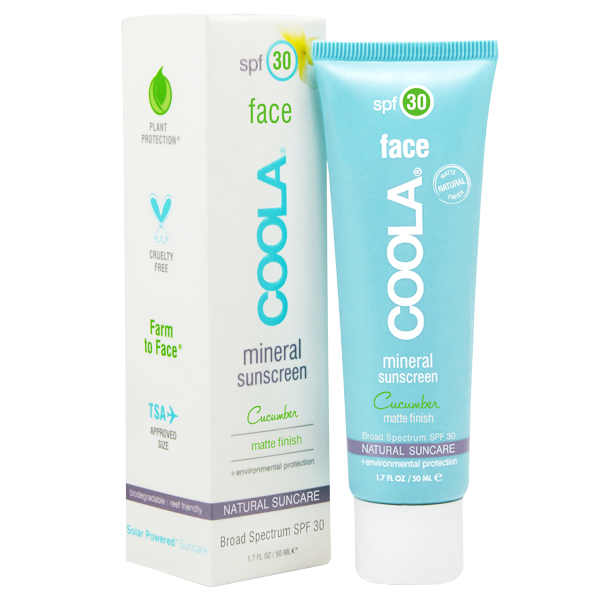 Coola suncreen for face